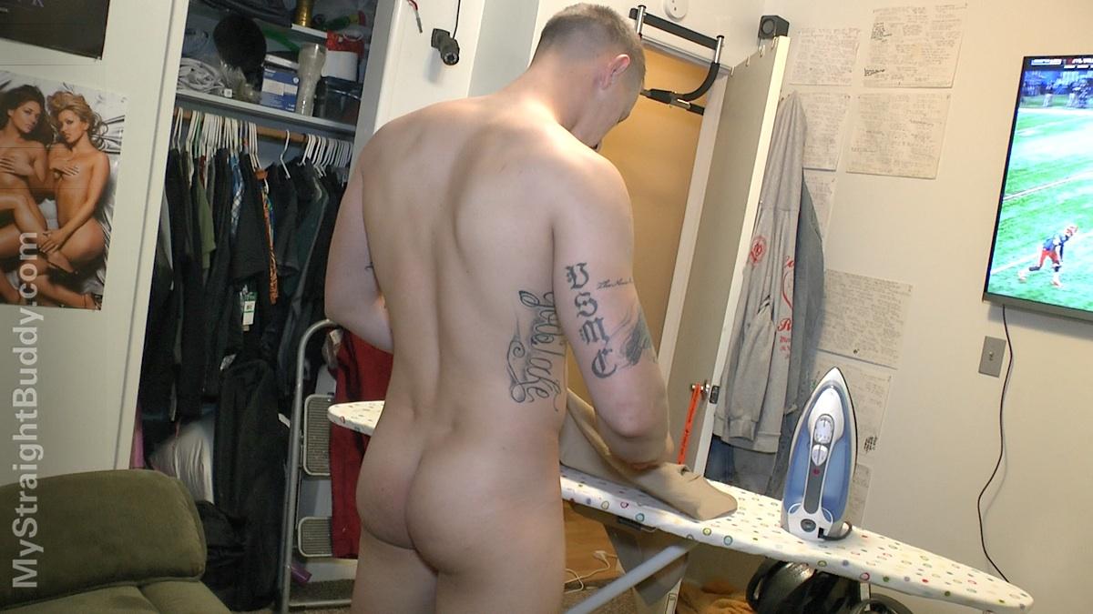 My Straight Buddy Scott Marine Masturbating Jerking Off Amateur Gay Porn 03