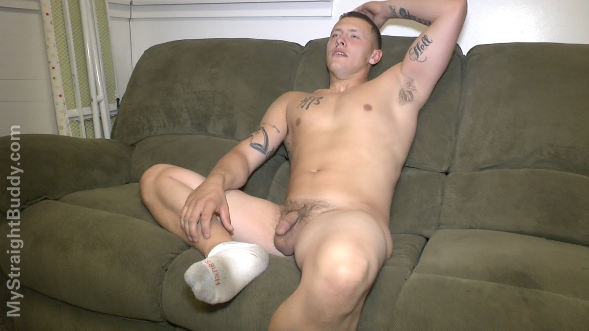 My Straight Buddy Scott Marine Masturbating Jerking Off Amateur Gay Porn 10