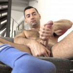 World Of Men Chris ADam Big Uncut Cock Jerk Off Masturbation Amateur Gay Porn 03 150x150 Hairy Sexy Stud Fingers His Ass And Plays With His Huge Uncut Cock