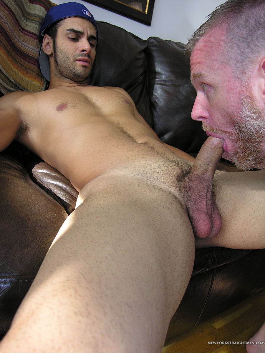 New York Straight Men Ryder and Sean Straight Guy Getting Cock Sucked By Gay Guy Amateur Gay Porn 08
