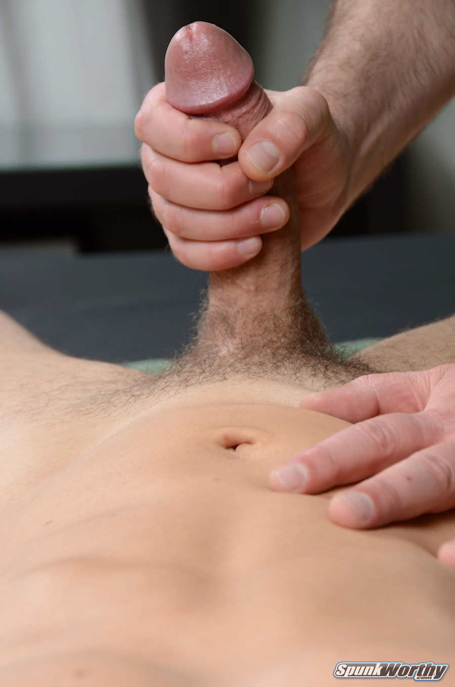 SpunkWorthy Tommy Straight Guys First Blow Job From A Gay Guy Massage Amateur Gay Porn 15