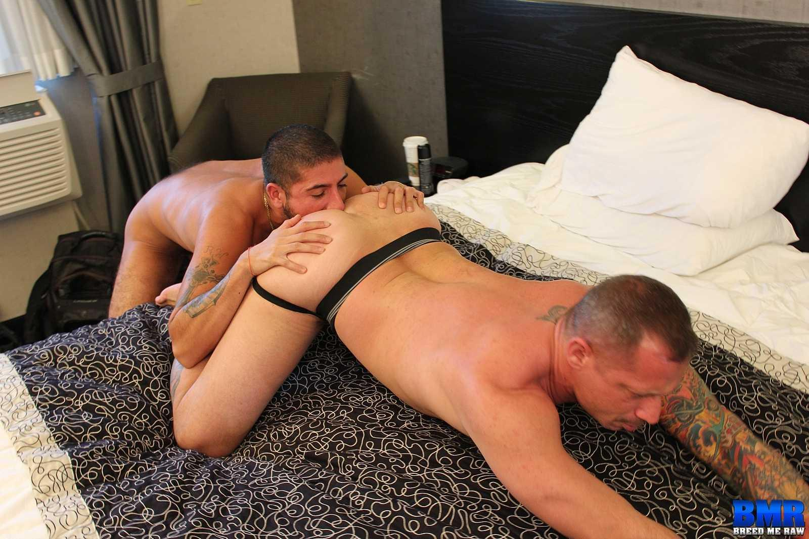 Breed Me Raw Kyle Savage and Sebastian Rio White Daddy Gets Barebacked By Big Uncut Latino Cock Amateur Gay Porn 01