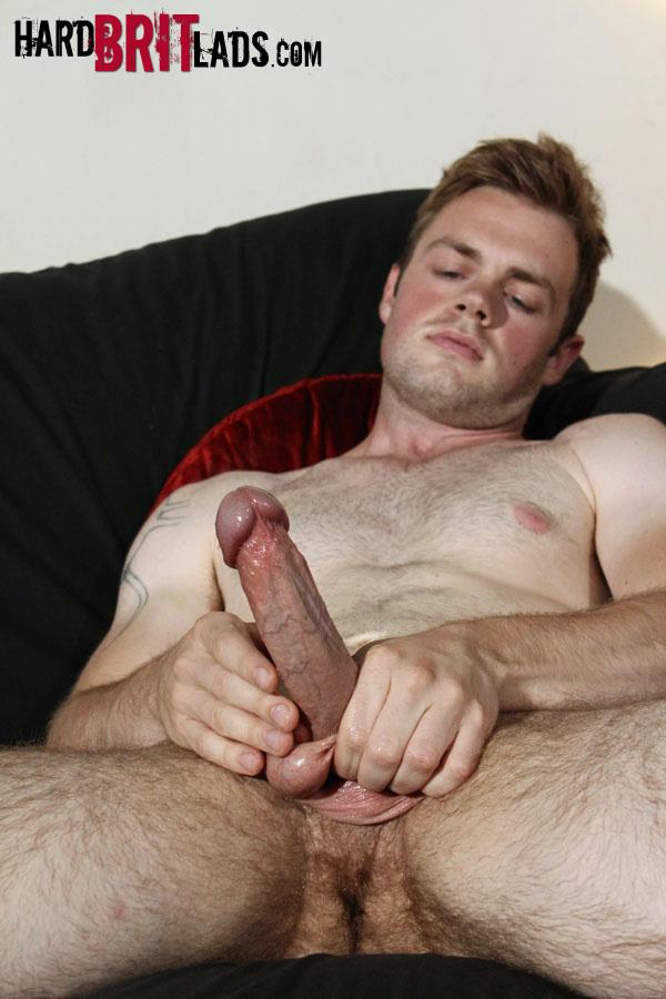 Hard Brit Lads Ty Bamborough Hairy Young Guy Jerking Off Big Long Cock Amateur Gay Porn 09