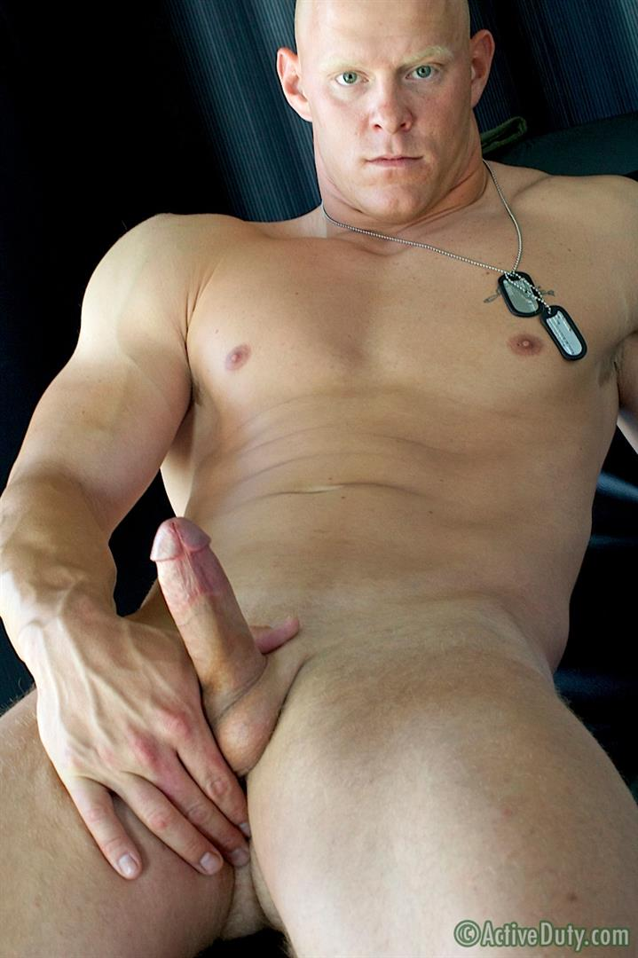 Active Duty Dane Muscle Straight Marine Jerking His Cock Amateur Gay Porn 11