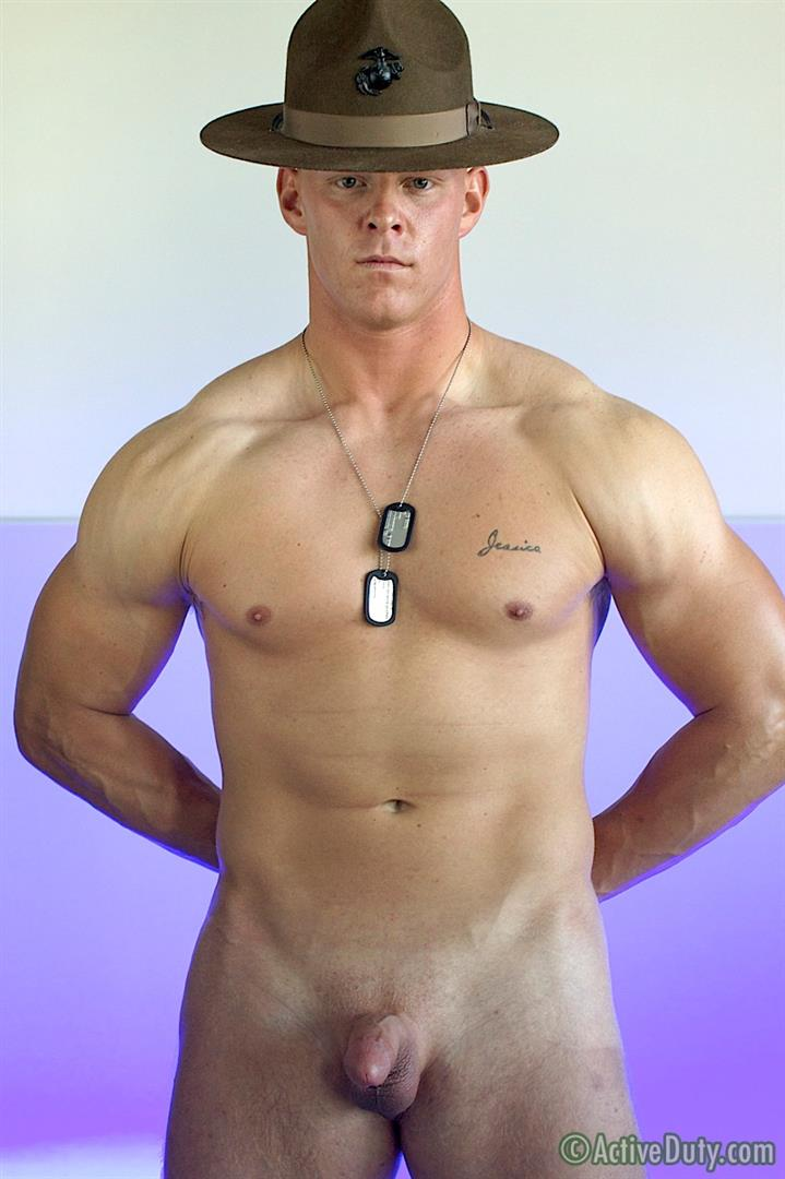 Active Duty Dane Muscle Straight Marine Jerking His Cock Amateur Gay Porn 19