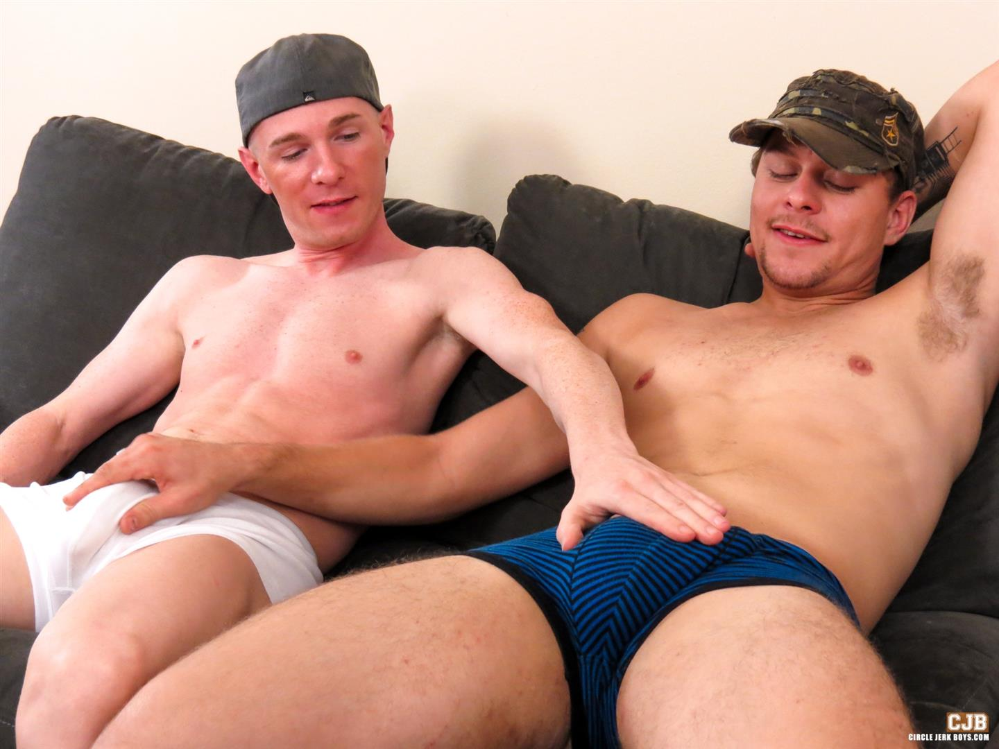 Circle Jerk Boys Isaac Conn and Jesse Idol Country Redneck Buddies Sucking Cock Amateur Gay Porn 02