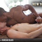 "Lucas Entertainment Kings Of New York Season 2 Sean Sean Xavier and Duncan Black Interracial Fucking Big Black Cock Amateur Gay Porn 08 150x150 White Hunk Takes A 12"" Black Cock Up His Ass and Eats A Load"