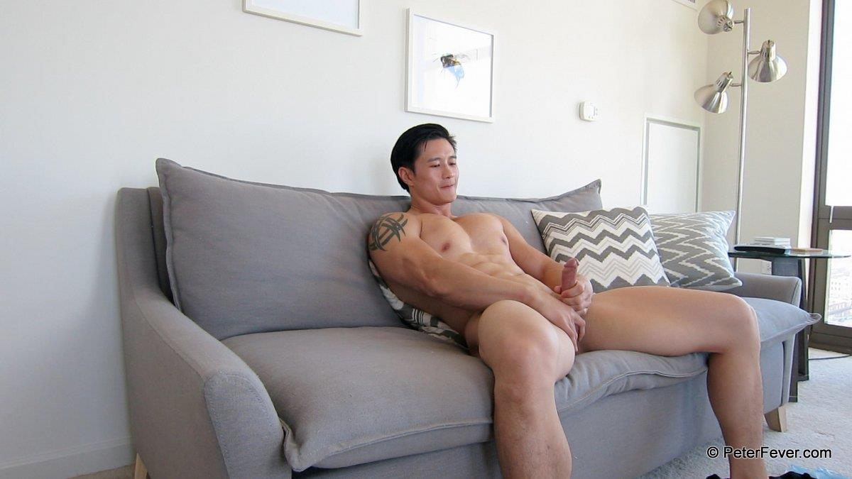 PeterFever Peter Le Big Asian Cock In Jock Jerking Off Amateur Gay Porn 17