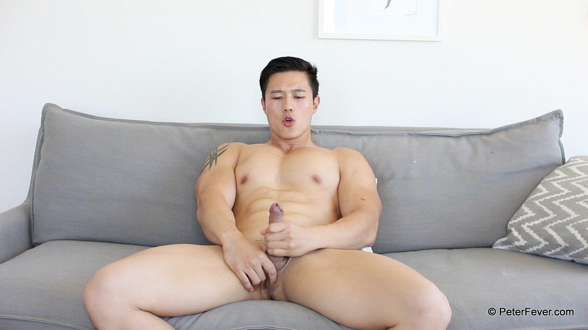 PeterFever Peter Le Big Asian Cock In Jock Jerking Off Amateur Gay Porn 18