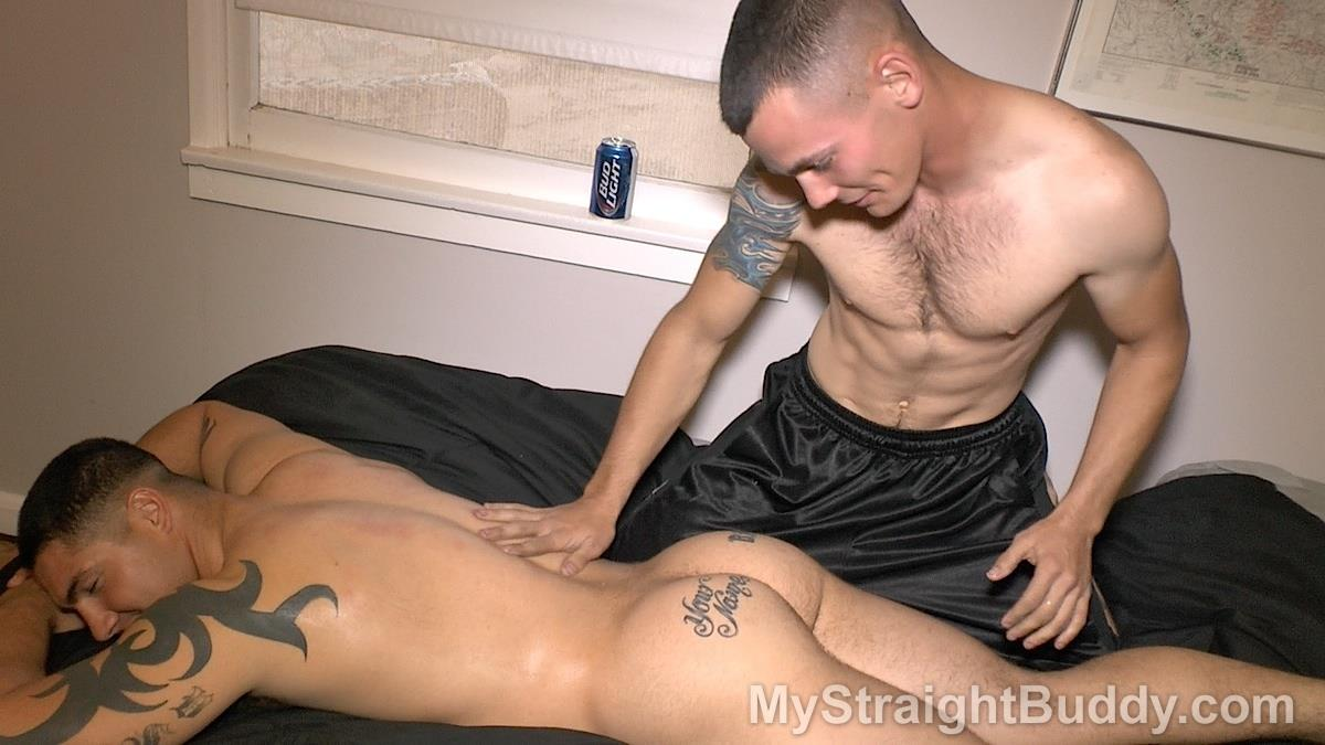 My Straight Buddy Nick and Mach Naked Straight Marines Giving A Massage Amateur Gay Porn 01