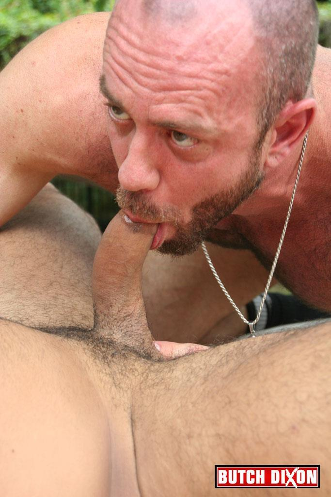 Butch Dixon Rikk York and Matt Stevens Hairy Daddy and Younger Guy Trade Blow Jobs Amateur Gay Porn 18