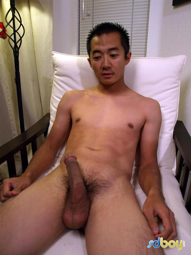 SDBoy Mitsuo Navy Asian Guy With Big Cock Jerking Off Amateur Gay Porn 17