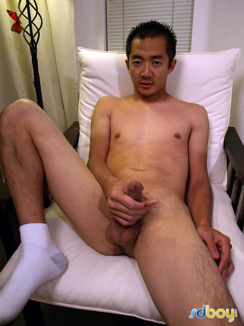 SDBoy Mitsuo Navy Asian Guy With Big Cock Jerking Off Amateur Gay Porn 21