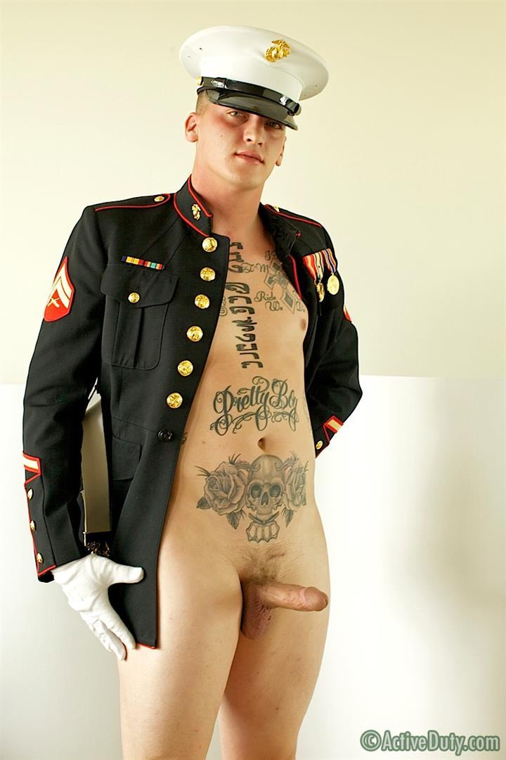 ActiveDuty Marine Quinn Straight Marine Jerking Off Thick Cock Amateur Gay Porn 09