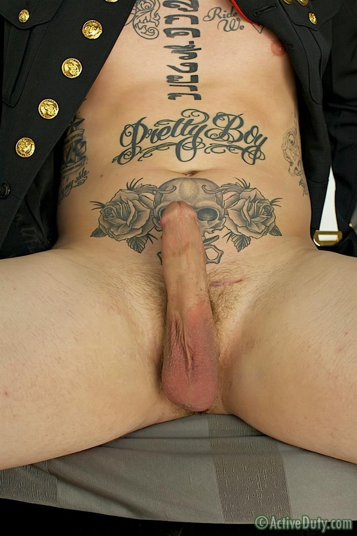 ActiveDuty Marine Quinn Straight Marine Jerking Off Thick Cock Amateur Gay Porn 15