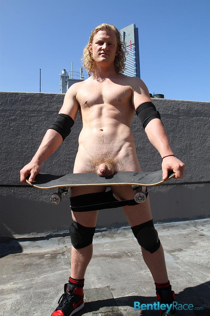 Bentley Race Shane Phillips Aussie Skater Showing Off His Hairy Uncut Cock Amateur Gay Porn 16