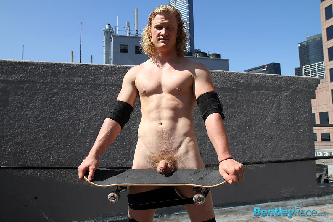 Bentley Race Shane Phillips Aussie Skater Showing Off His Hairy Uncut Cock Amateur Gay Porn 27