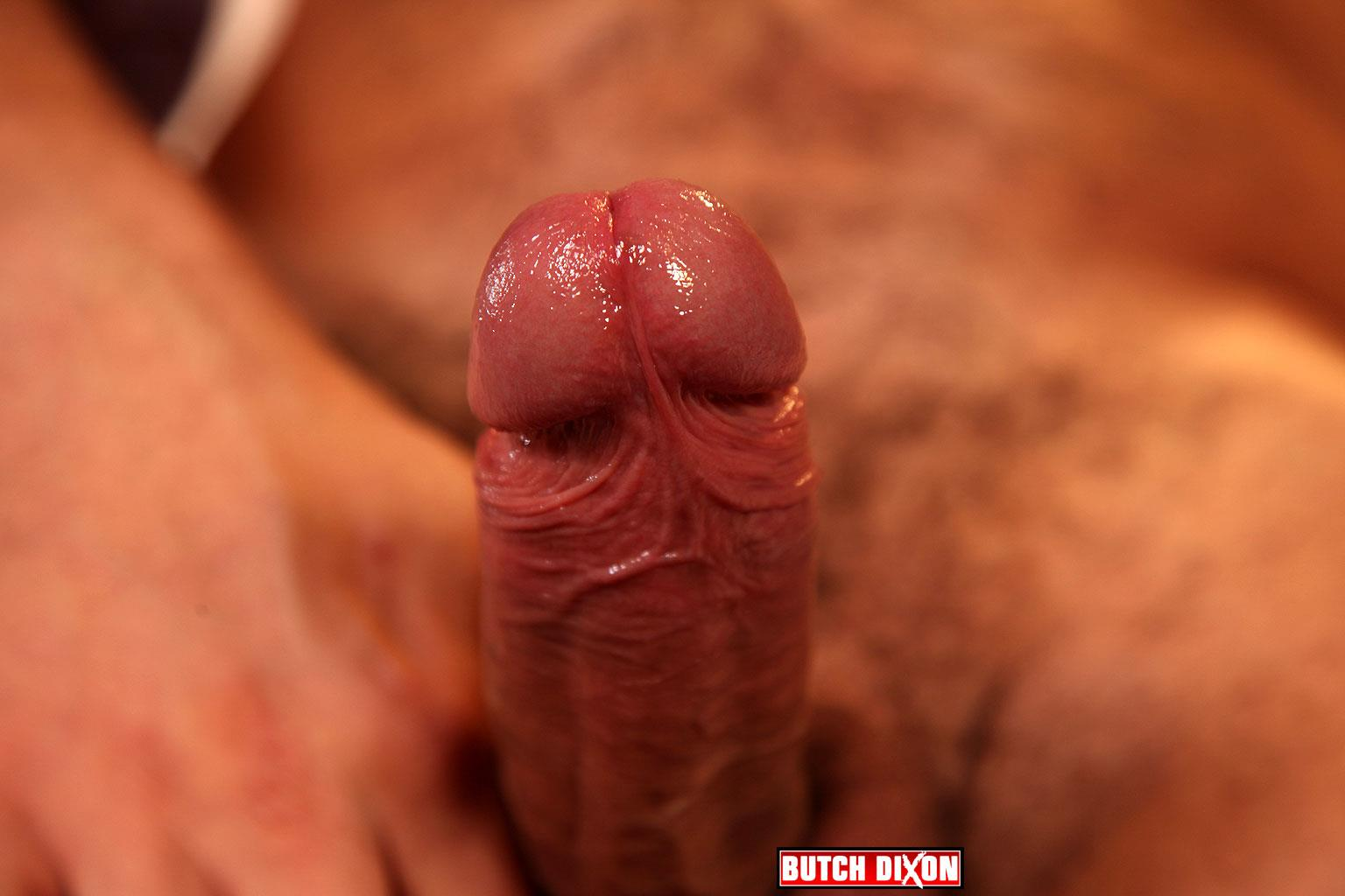 Butch Dixon Delta Kobra Muscle Hunk With A Big Uncut Cock Jerking Off Amateur Gay Porn 17