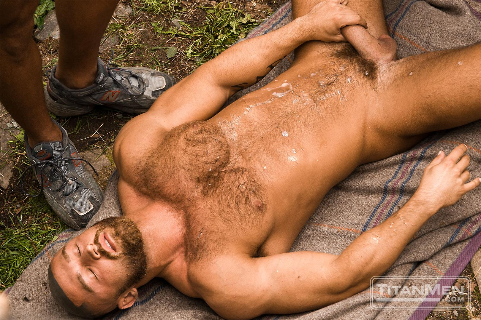 TitanMen Cum Shots from Hairy Muscle Hunks Amateur Gay Porn 6
