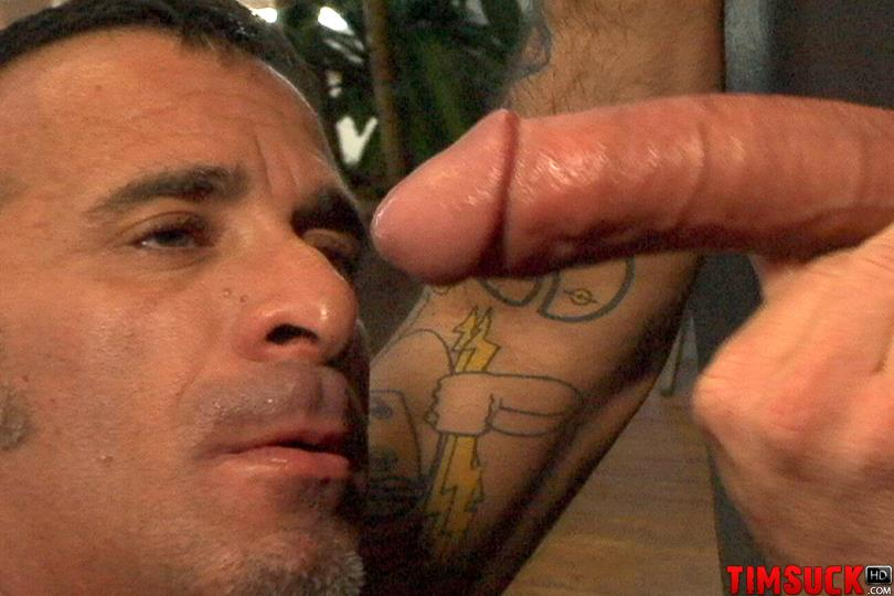 Treasure Island Media TIMSuck Tony Romano Eating Cum Sucking Cock At The Gloryhole Amateur Gay Porn 5