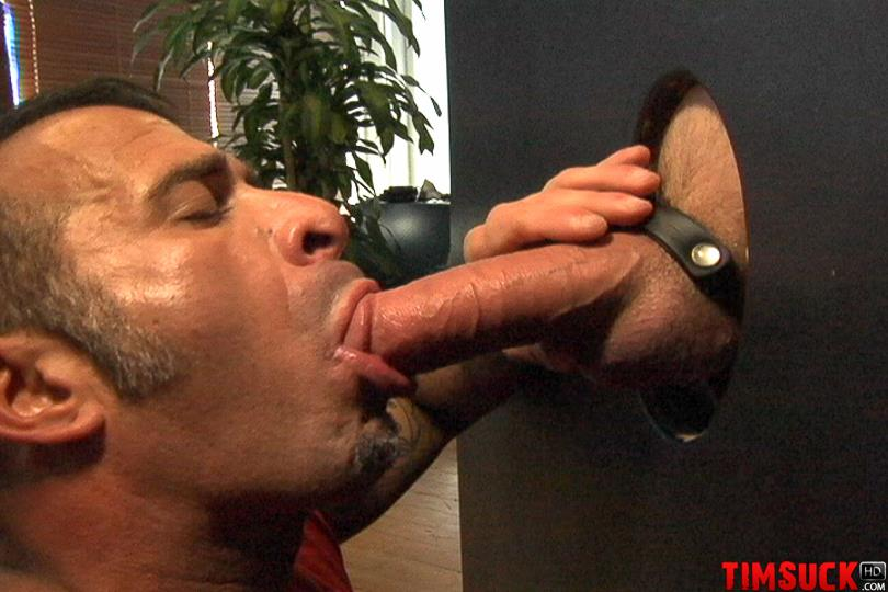 Treasure Island Media TIMSuck Tony Romano Eating Cum Sucking Cock At The Gloryhole Amateur Gay Porn 7