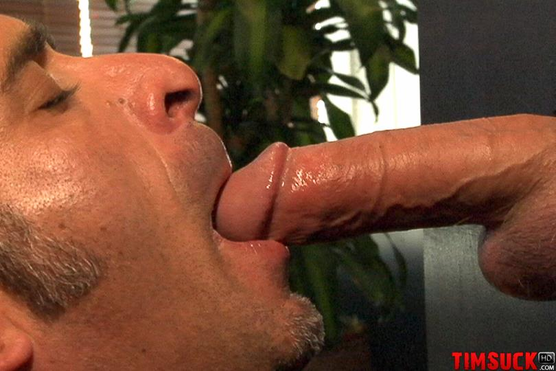 Something is. cock sucking cum hole