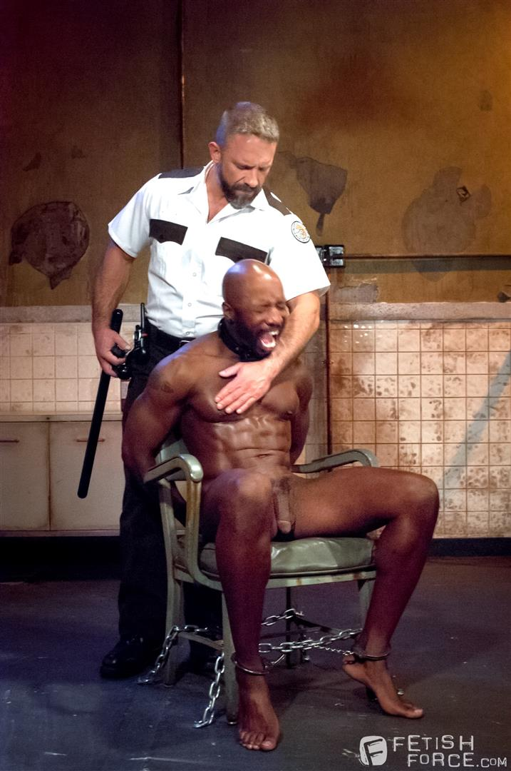 Fetish Force Race Cooper and Dirk Caber Black Guy Forced To Suck White Cock Amateur Gay Porn 05