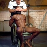 Fetish Force Race Cooper and Dirk Caber Black Guy Forced To Suck White Cock Amateur Gay Porn 08 150x150 Black Inmate Race Cooper Forced To Suck A Guards Thick White Cock