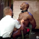 Fetish Force Race Cooper and Dirk Caber Black Guy Forced To Suck White Cock Amateur Gay Porn 09 150x150 Black Inmate Race Cooper Forced To Suck A Guards Thick White Cock