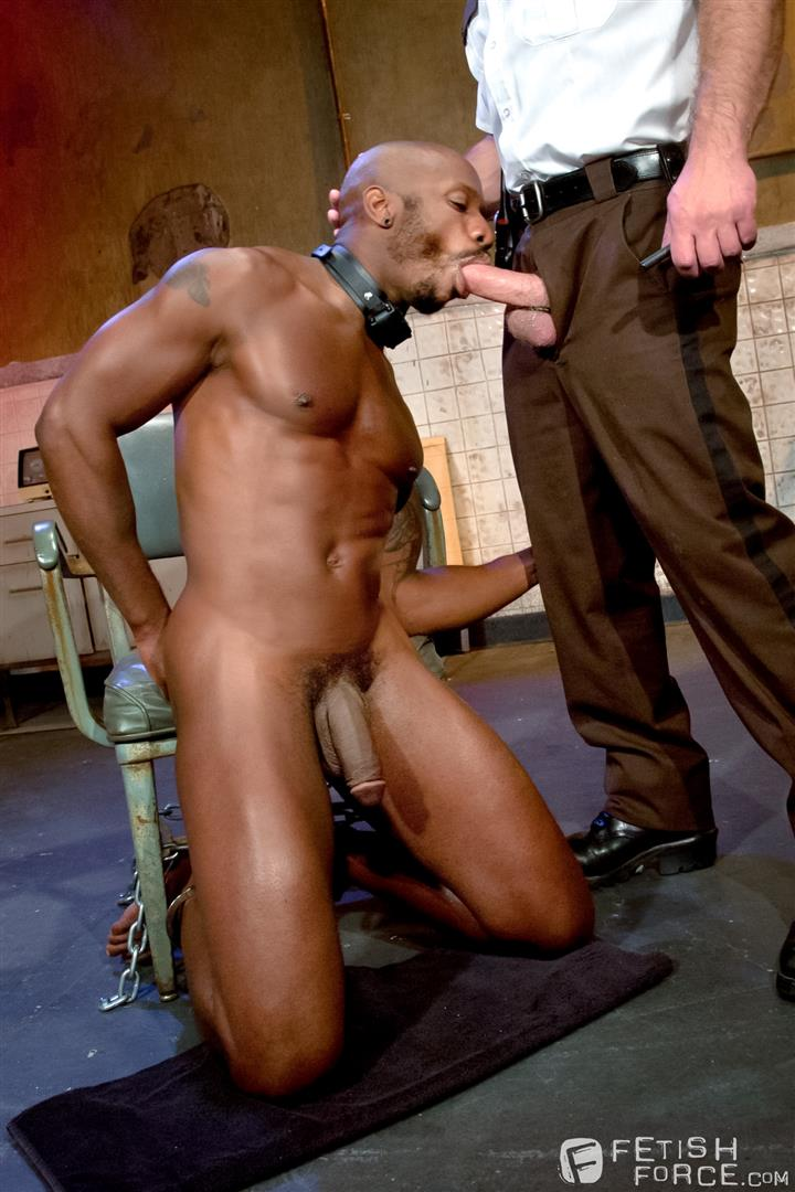 Fetish Force Race Cooper and Dirk Caber Black Guy Forced To Suck White Cock Amateur Gay Porn 12