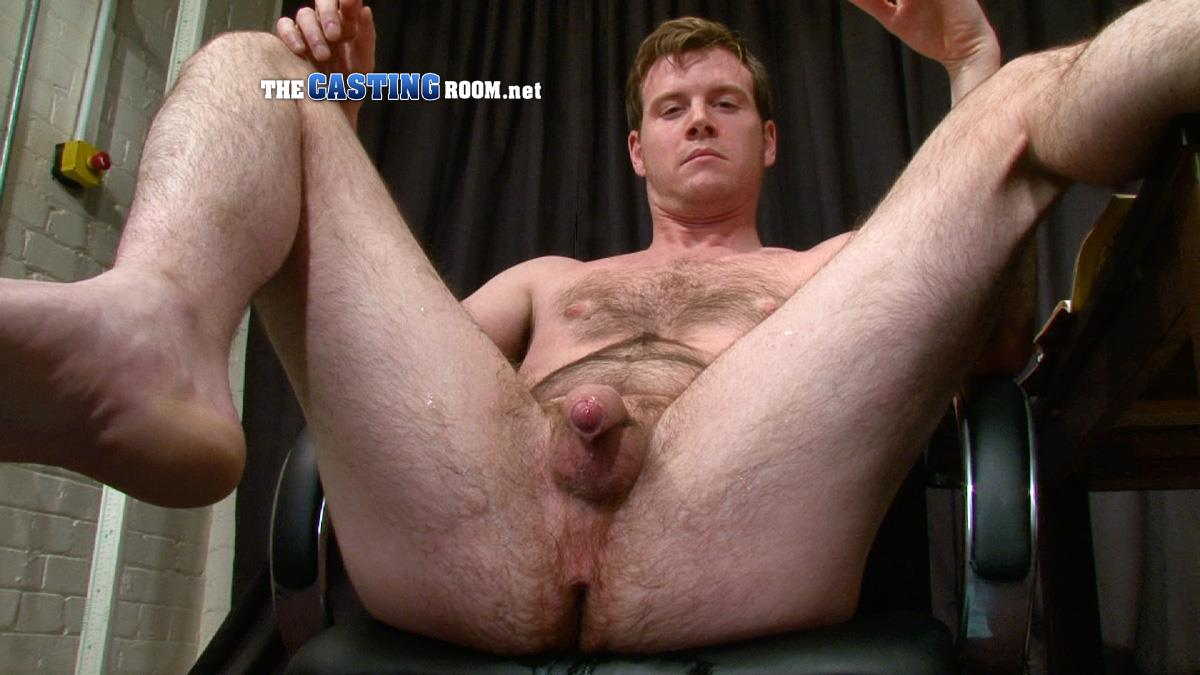 The Casting Room Robin Hairy Guy In Suit Jerking Off His Uncut Cock Amateur Gay Porn 20