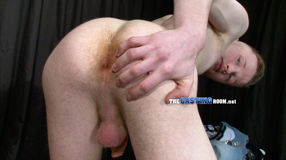 The Casting Room Kingsley Twink With A Thick Uncut Cock Cumming Amateur Gay Porn 09