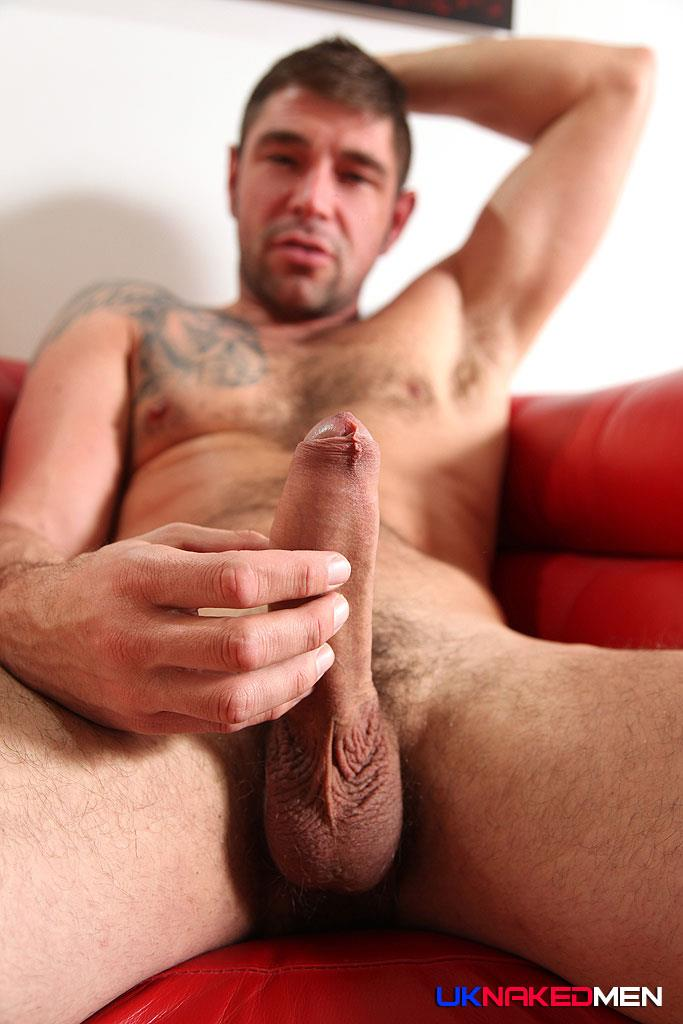 UK Nakedmen Sandro Sanchez Spanish Guy Jerking Off His Huge Uncut Cock Amateur Gay Porn 09