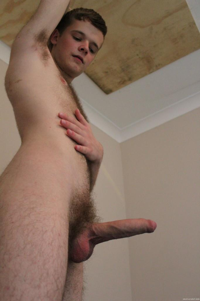 Amateurs Do It Arthur Hairy Twink With A Big Uncut Cock Jerk Off  Amateur Gay Porn 08