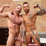 Butch Dixon Samuel Colt and Frank Valencia Hairy Muscle Daddy Getting Fucked By Latino Cock Amateur Gay Porn 10 150x150 Happy Fathers Day: Hairy Muscle Daddy Samuel Colt Taking A Big Cock Up The Ass