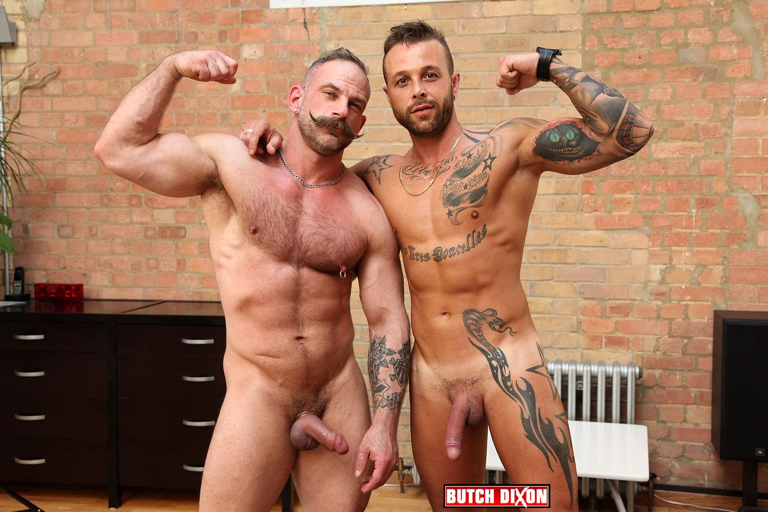 Butch Dixon Samuel Colt and Frank Valencia Hairy Muscle Daddy Getting Fucked By Latino Cock Amateur Gay Porn 10