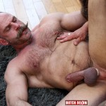 Butch Dixon Samuel Colt and Frank Valencia Hairy Muscle Daddy Getting Fucked By Latino Cock Amateur Gay Porn 13 150x150 Happy Fathers Day: Hairy Muscle Daddy Samuel Colt Taking A Big Cock Up The Ass