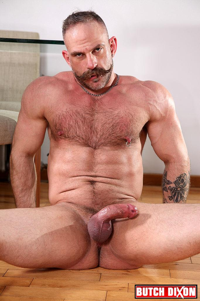 Butch Dixon Samuel Colt and Frank Valencia Hairy Muscle Daddy Getting Fucked By Latino Cock Amateur Gay Porn 22
