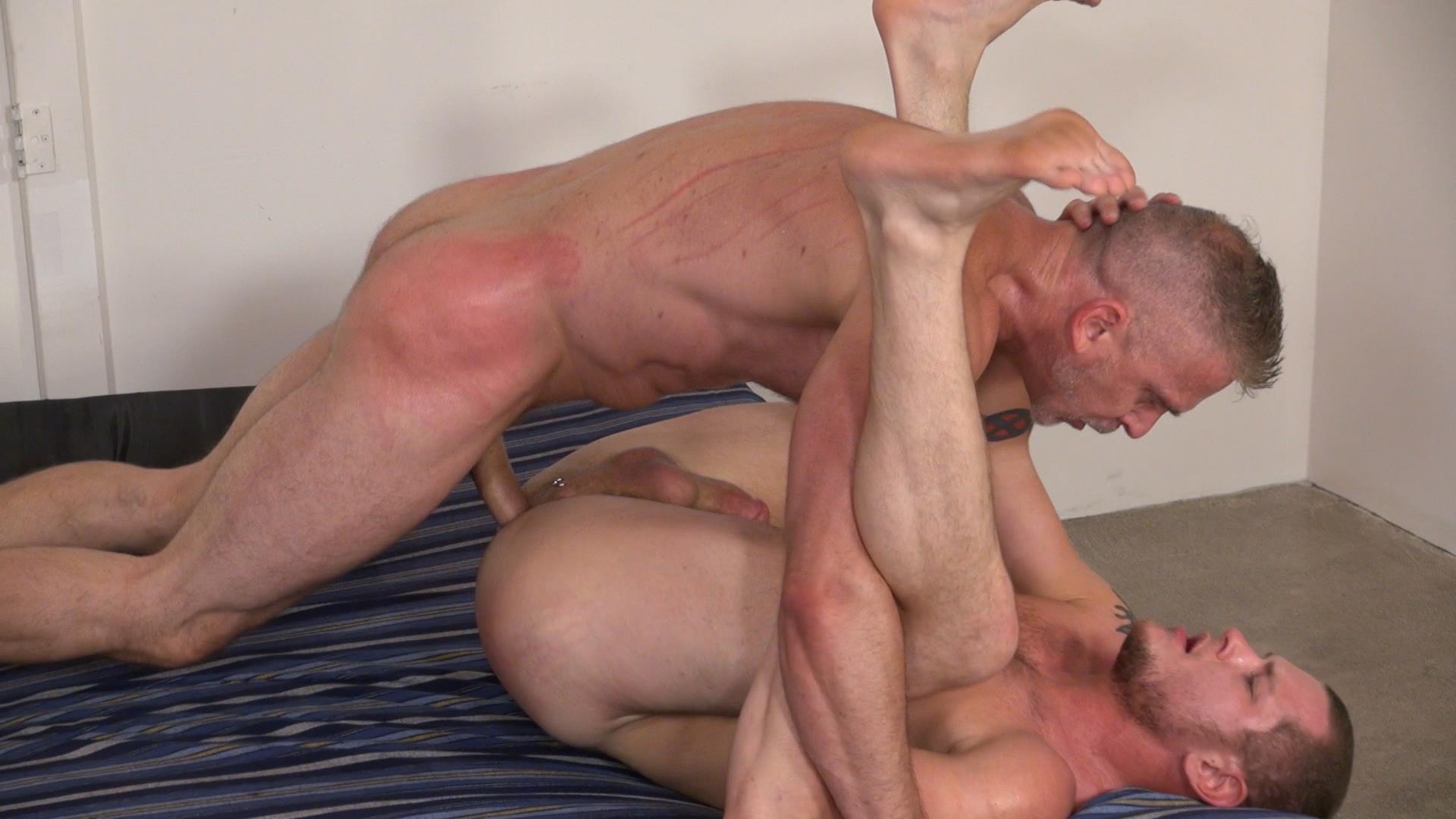 Raw and Rough Sam Dixon and Blue Bailey Daddy And Boy Flip Flip Bareback Fucking Amateur Gay Porn 07