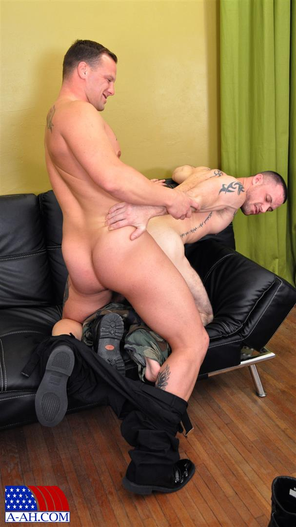 All American Heroes NAVY CORPSMAN LOGAN FUCKS SERGEANT MILES Military Guys Fucking Bareback Amateur Gay Porn 07