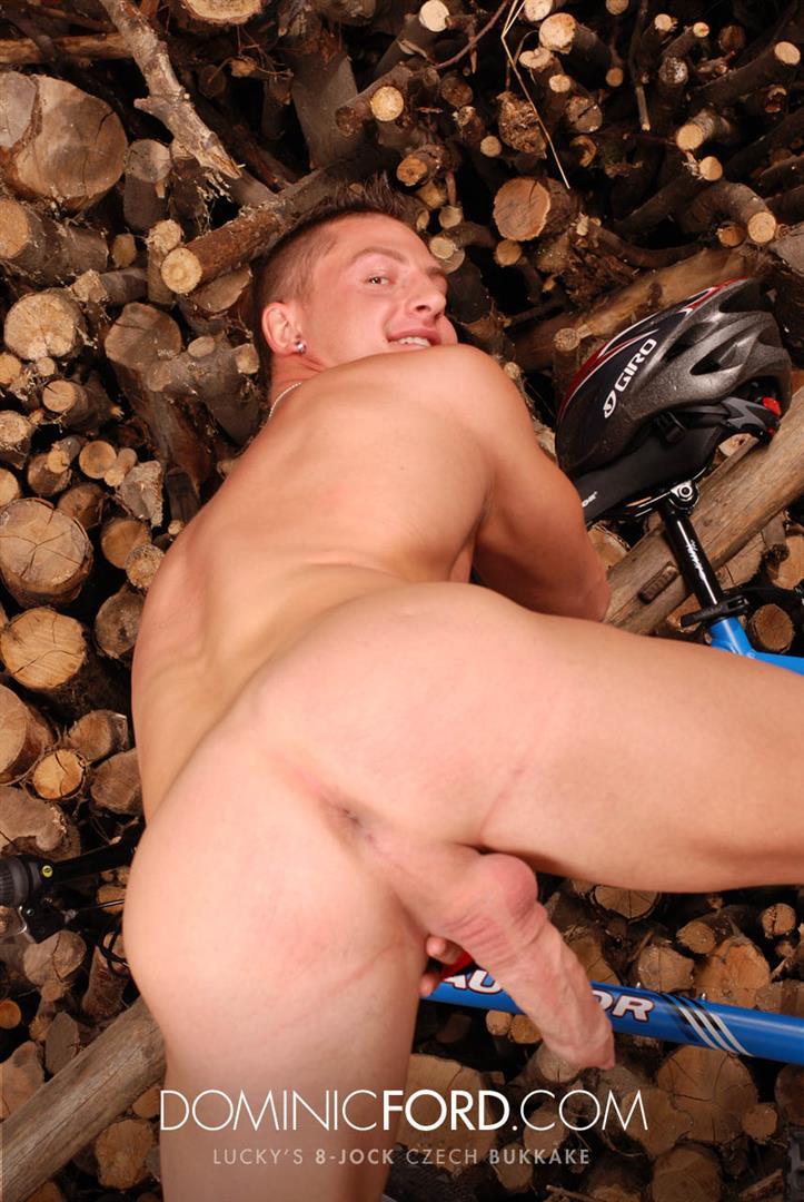 Dominic Ford 8 Guy Jocks Big Uncut Cock Bukkake Czech Amateur Gay Porn 198