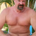 Hot Older Male Mitch Davis Beefy Chubby Smooth Daddy Jerking His Thick Cock Amateur Gay Porn 08 150x150 Beefy Smooth Daddy With A Thick Cock Jerking Off