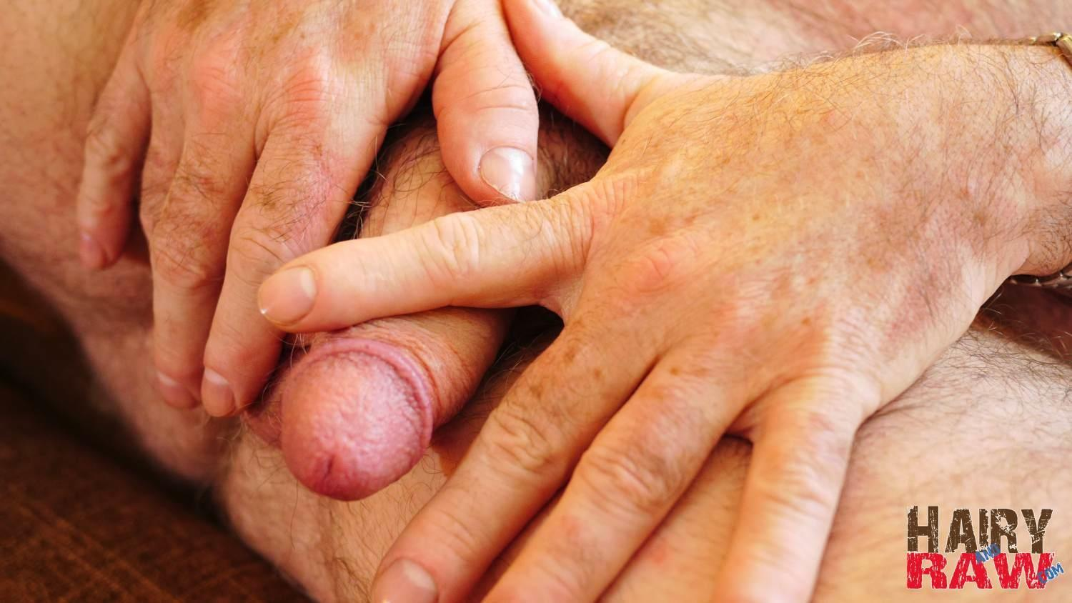 Hairy and Raw Bo Francis Suited Chubby Hairy Daddy Jerking Off Thick Cock Twink Jerking Off And Eating His Own Cum Amateur Gay Porn 11