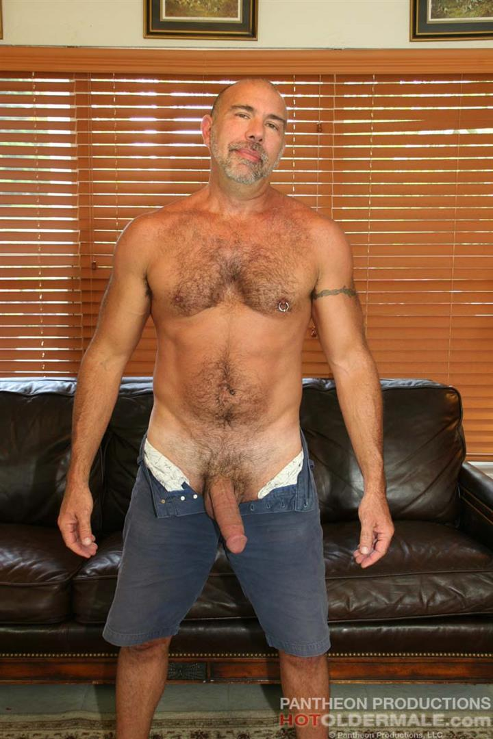 Hot Older Male Jason Proud Hairy Muscle Daddy With A Big Thick Cock Amateur Gay Porn 17