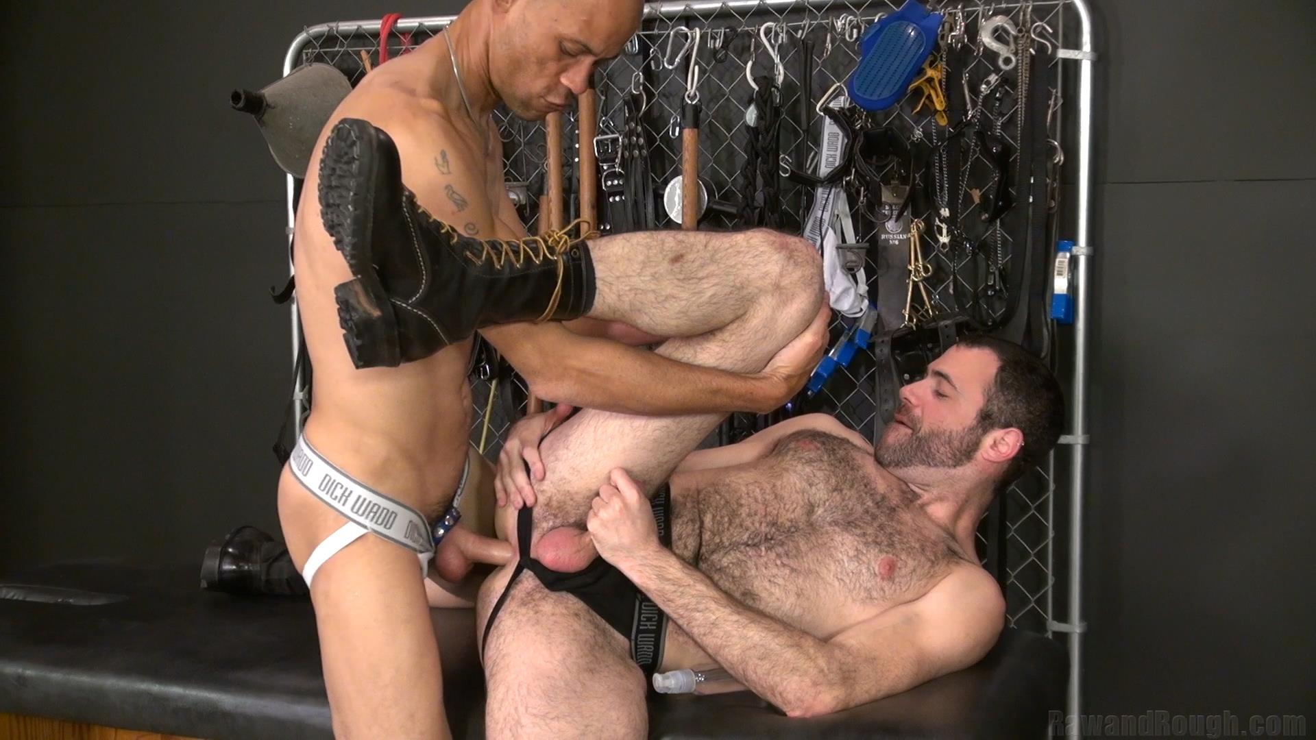 Raw and Rough Dusty Williams and Seth Patrick Barebacking A Stranger at A Sex Club Hairy Amateur Gay Porn 01