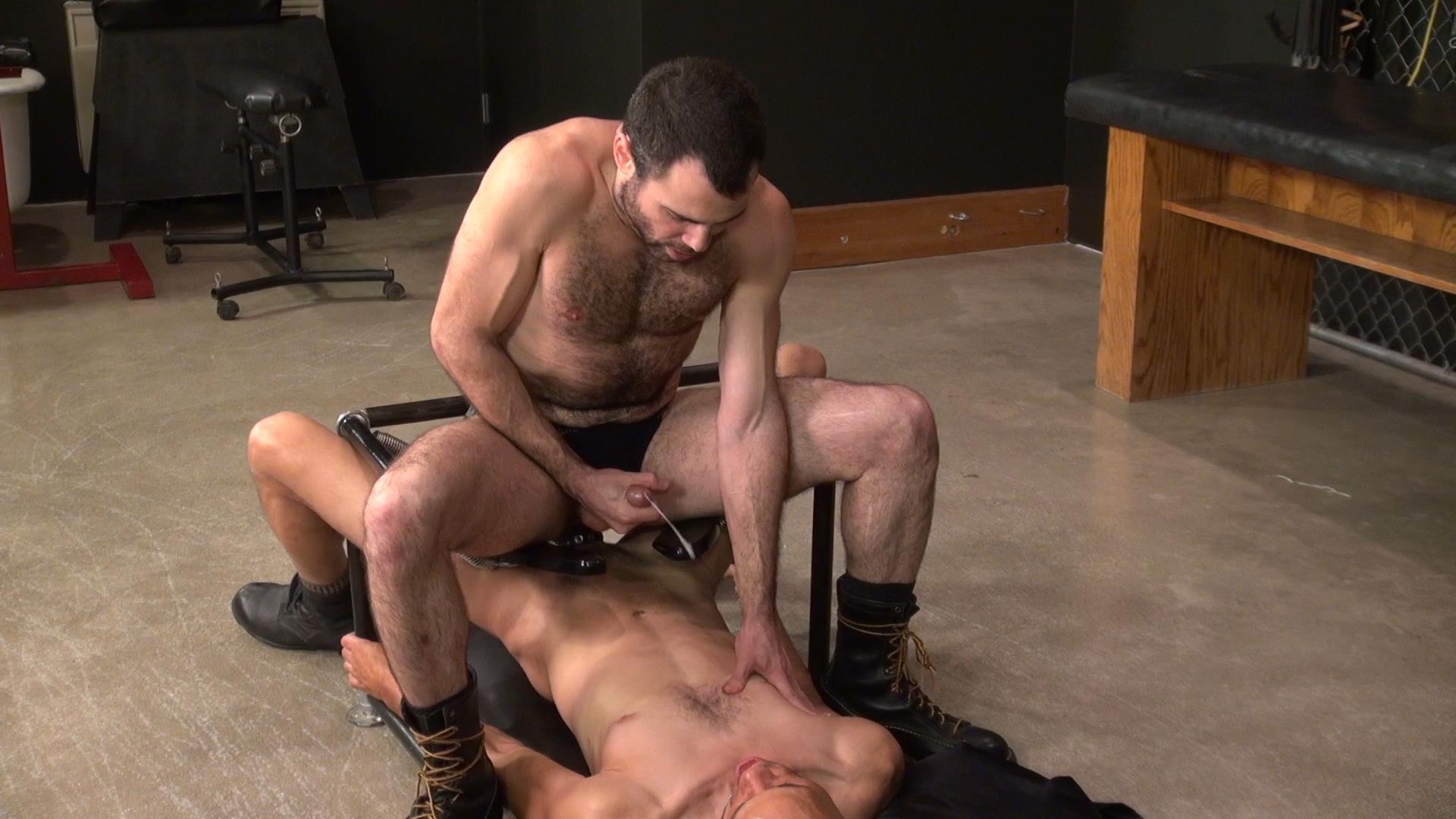 Raw and Rough Dusty Williams and Seth Patrick Barebacking A Stranger at A Sex Club Hairy Amateur Gay Porn 04