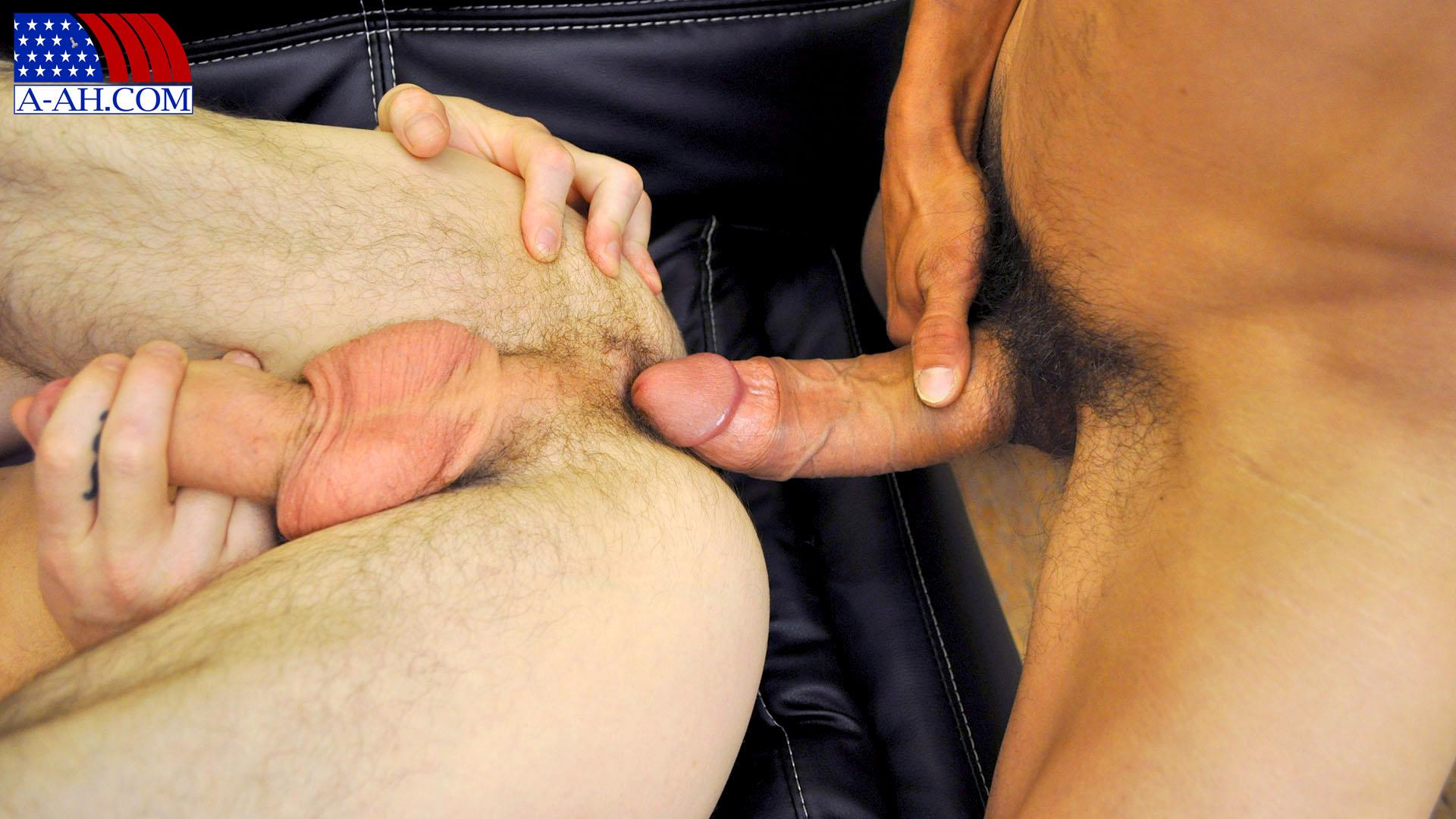 All American Heroes Navy Petty Officer Eddy fucking Army Sergeant Miles Big Uncut Cock Amateur Gay Porn 03