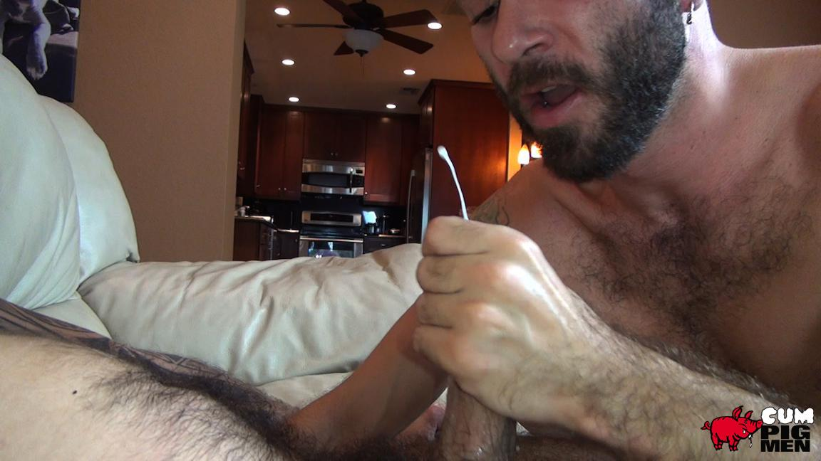 Cum Pig Men Ethan Palmer and Cam Christou Sucking Cock and Eating Cum Amateur Gay Porn 26