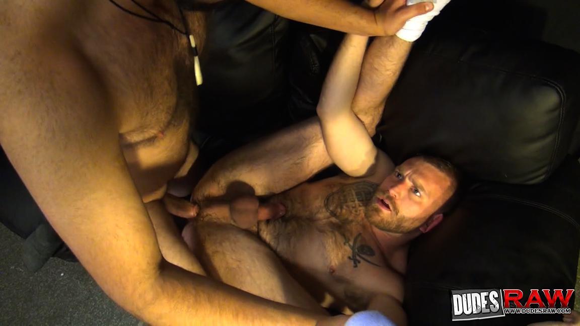 Dudes Raw Kodah Filmore and James Roscoe Barebacking A Hairy Ass Piggy Sex Amateur Gay Porn 09