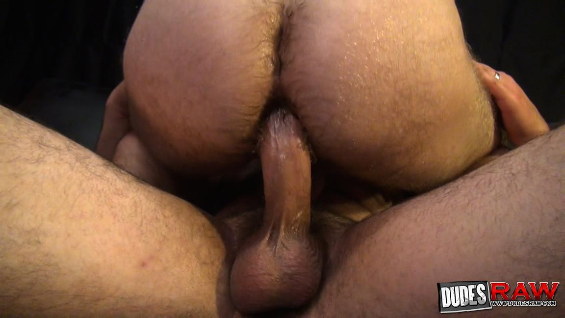 Dudes Raw Kodah Filmore and James Roscoe Barebacking A Hairy Ass Piggy Sex Amateur Gay Porn 15